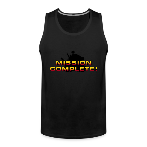 Mission Complete! - Men's Premium Tank Top