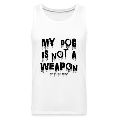 ANTI-DOG FIGHTING TANK TOP - Men's Premium Tank Top