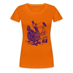Wotto Dodo - Frauen Premium T-Shirt