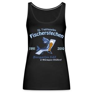 Biergarten Lidl 20. Fischerstechen 2010 - Jubiläumsshirt - Schulterfreies Tank Top für Girls - Digital Direktdruck - Frauen Premium Tank Top