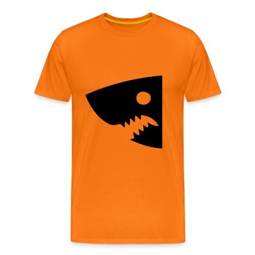 T-shirt Premium Homme - Manche Gauche: INSERER JOUEUR SERRE Manche Droite: INSERER JOUEUR LARGE