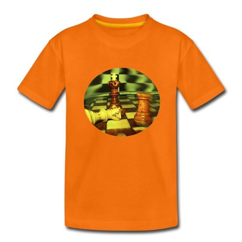 Kreis 2-seitig  - Teenager Premium T-Shirt