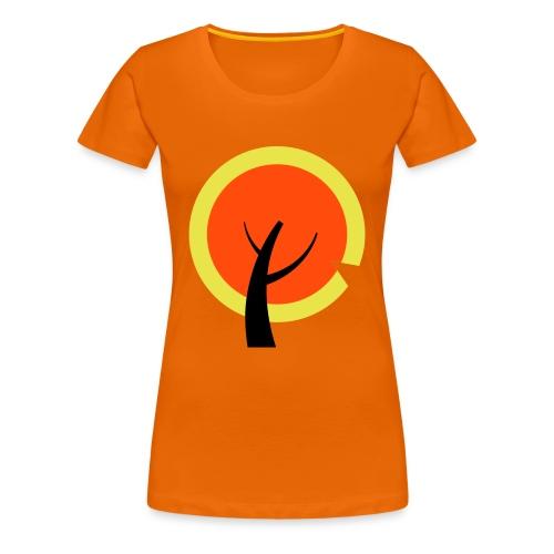 Passievrucht of appeltje van oranje? - Vrouwen Premium T-shirt
