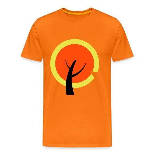 Passievrucht of appeltje van oranje? - Mannen Premium T-shirt