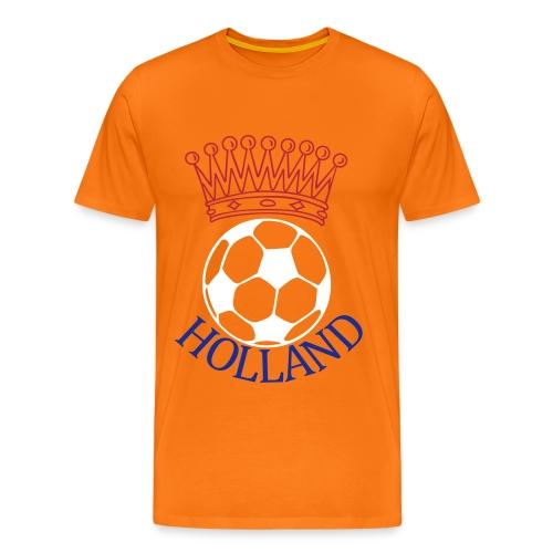 Men: Kroon bal Holland t-shirt - Mannen Premium T-shirt