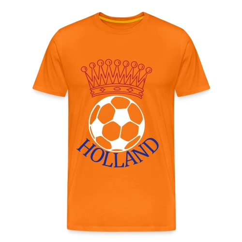 Men: Kroon bal Holland t-shirt - Mannen Premium T-shirt