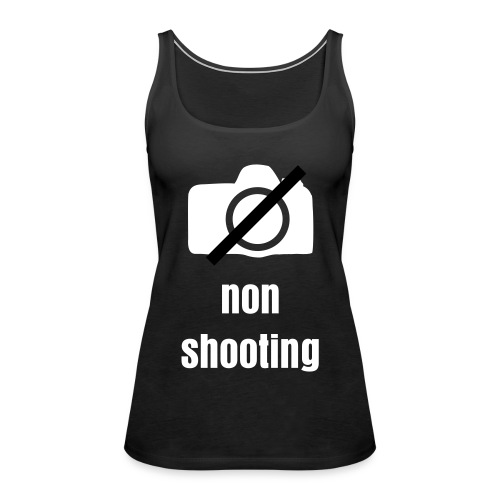 non shooting - Tank top damski Premium