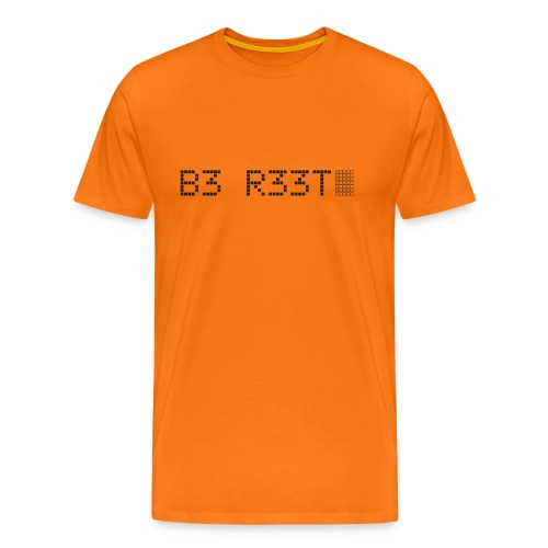 B3 R33T in black - Men's Premium T-Shirt