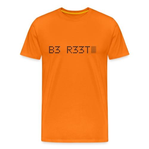 B3 R33T in black - Men's Premium T-Shirt