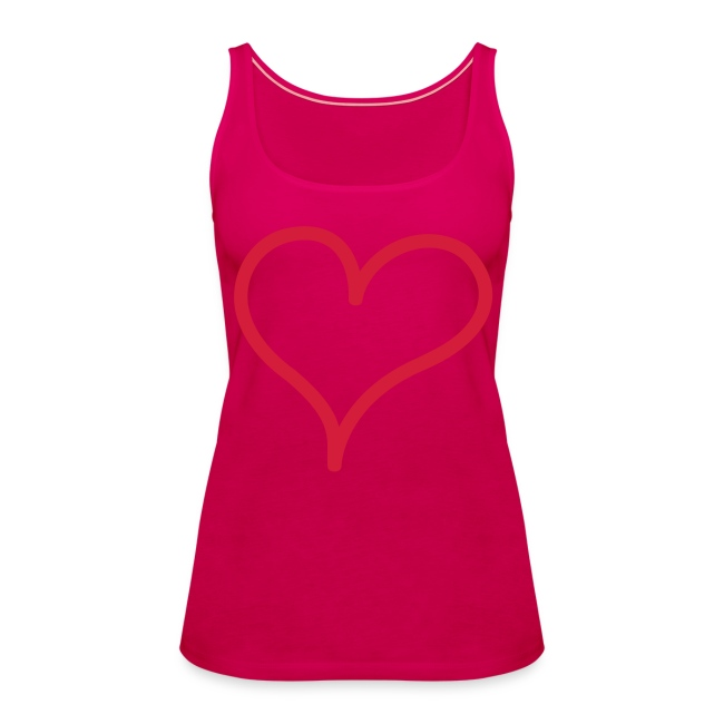 Womens Heart Tank