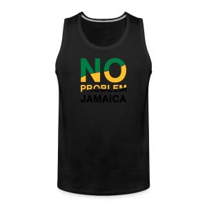 Jamaica-Shirt - No Problem in Landesfarben - Männer Premium Tank Top