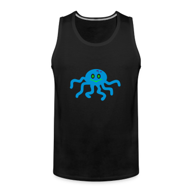 Nero polpo / octopus (3c) T-shirt