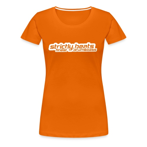 Frauen Shirt klassisch orange - Frauen Premium T-Shirt