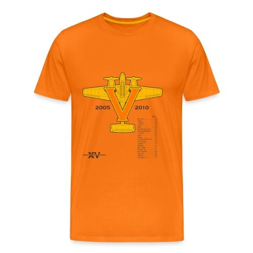 5 Jahre ZG15 - Männer Premium T-Shirt