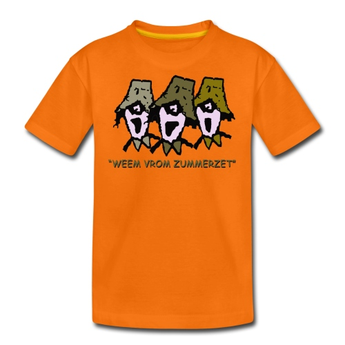 weem vrom zummerzet kids classic t-shirt - Teenage Premium T-Shirt
