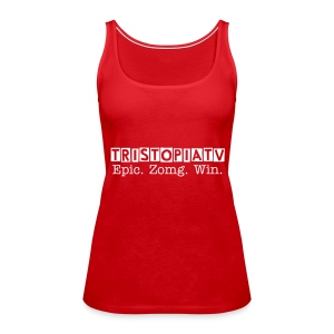 tristopiaTV Epic. Zomg. Win! - Women - Women's Premium Tank Top