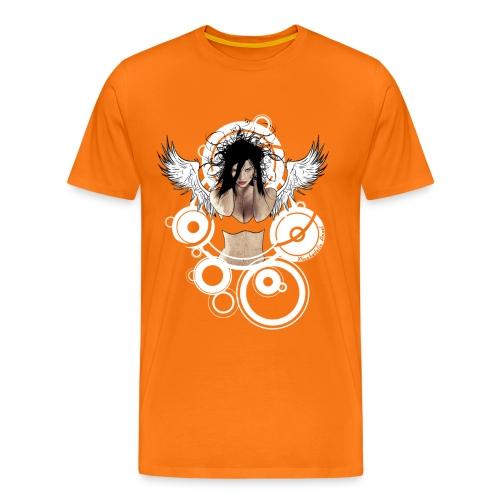 Psychedelic  AngeI - Mannen Premium T-shirt