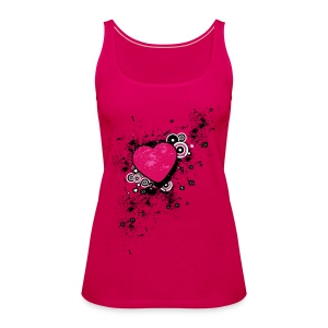 Messed Up Heart - Women's Premium Tank Top