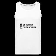 Sportkleding ~ Mannen Premium tank top ~ Geschikt - heren muscleshirt