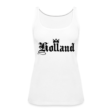 White Holland with crown Tops