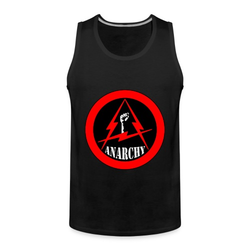 Anarchy Red - Men's Premium Tank Top