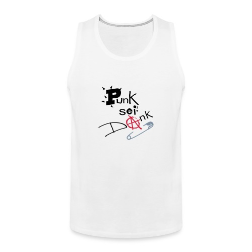 Deutsche Anarchie - Men's Premium Tank Top