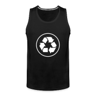 Sportkleding ~ Mannen Premium tank top ~ Recycle circle