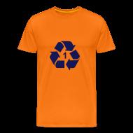 T-shirts ~ Mannen Premium T-shirt ~ Recycle 1 dicht