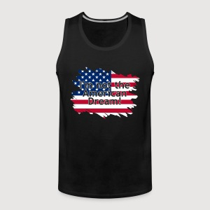 I'm not the American Dream | Muskelshirt - Männer Premium Tank Top