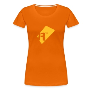 Girlie T-Shirt - Yellow Gold Renoise Tag - Women's Premium T-Shirt