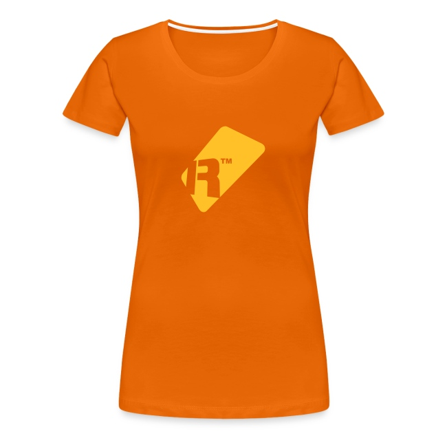 Girlie T-Shirt - Yellow Gold Renoise Tag