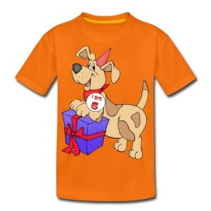 I am 6 doggy - Teenage Premium T-Shirt