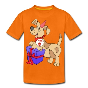 I am 6 doggy - Teenage Premium T-Shirt