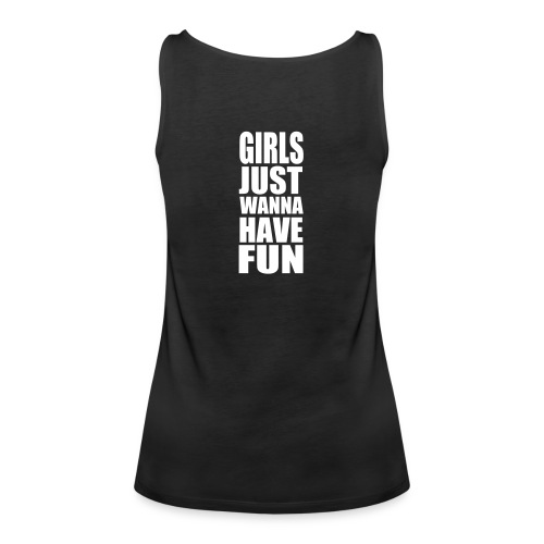 WE LOVE TO PARTY HARD - GIRLS  TANK TOP - Women's Premium Tank Top