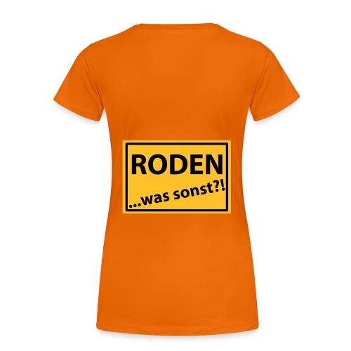Rodener Girl1 - Frauen Premium T-Shirt