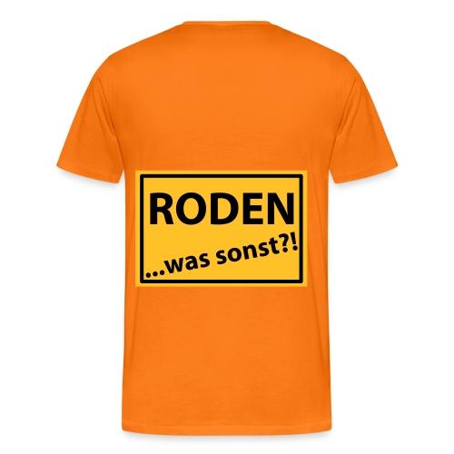 Rodener Man1 - Männer Premium T-Shirt