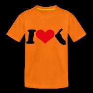 T-Shirts ~ Teenager Premium T-Shirt ~ I Love Amrum 2