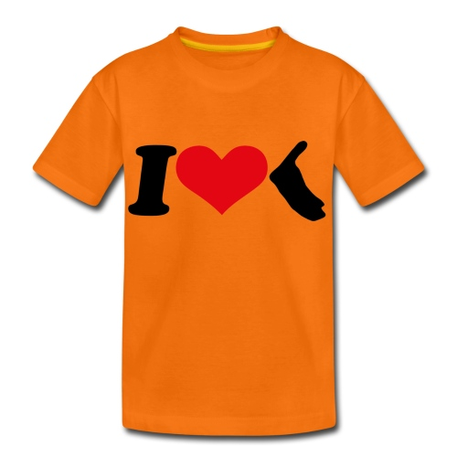 I Love Amrum 2 - Teenager Premium T-Shirt