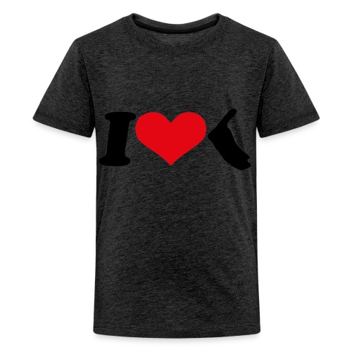 I Love Amrum 2 - Teenager Premium T-Shirt