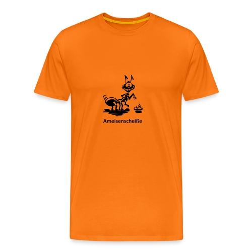 Fotografen T-Shirt Ameisenscheiße - Männer Premium T-Shirt