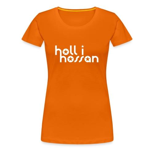 Hollihossan damtröja - Premium-T-shirt dam