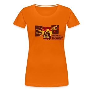 Cool Guys Don't Look at Explosions - Women's Premium T-Shirt