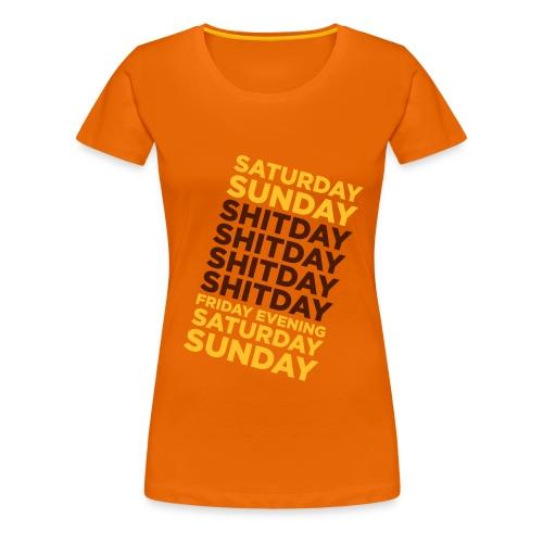 Vive le week-end ! - T-shirt Premium Femme