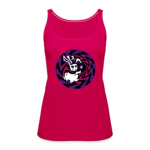 Rabbit Hole-Purple - Women's Premium Tank Top