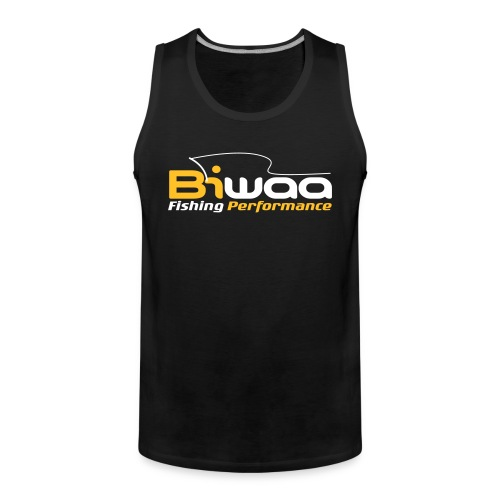 Bebardeur Biwaa noir logo Bi-ton - Débardeur Premium Homme