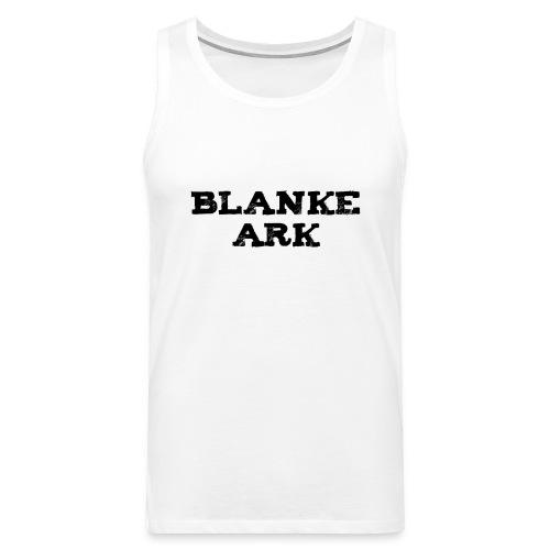 ===== Blanke Ark ===== Herresinglet - Kvit - Premium singlet for menn