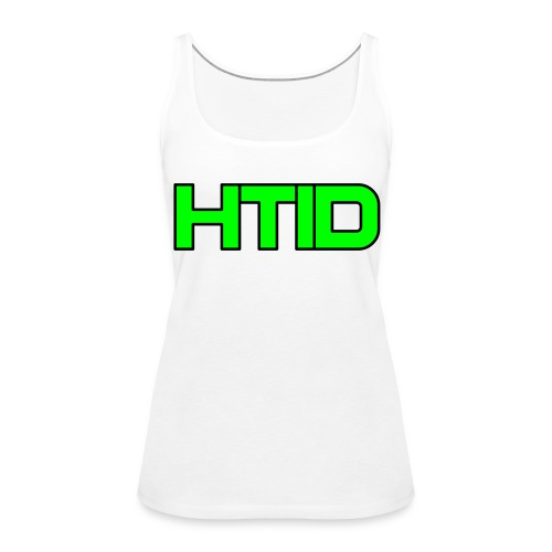 HTID - Women's White Shoulder Free Tank Top - Women's Premium Tank Top