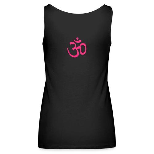 Yoga tanktop - Vrouwen Premium tank top