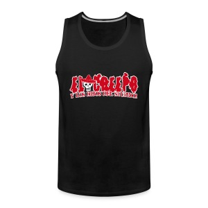 El Creeps - Muskelshirt Real Man - Männer Premium Tank Top