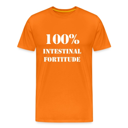 100% Intestinal Fortitude Classic Wrestling Tee - Men's Premium T-Shirt